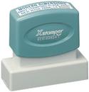 Xstamper N13 Pre-Inked Business Address Stamp 9/16