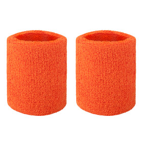 "GOGO Thick Solid Color Wrist Sweatband, 3 1/8"" x 3"" (Price / PIECE)"