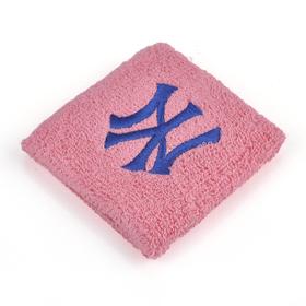 GOGO NewYork Yangkees Embroidery Wristband - Pink