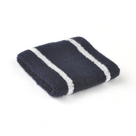 "GOGO 10010 3"" Striped Terry Cloth Sports Wristband/Sweatband"
