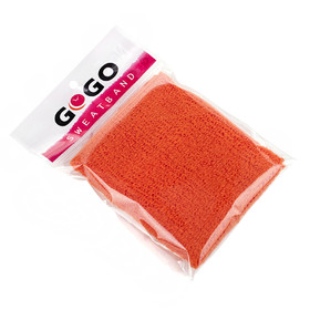 GOGO Thick Solid Color Pro Wrist Sweatband