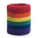 GOGO Rainbow Wristband, Terry Cloth Sports Sweatband