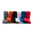 GOGO Thick Solid Color Pro Sweatband, 6 Pairs Assorted Colors