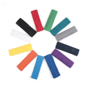 GOGO Thick Solid Color Headbands, 12 Pieces Assorted Colors