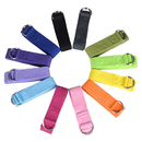 GOGO 6ft Metal D-Ring Buckle Yoga Strap - 10 Pack