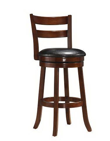 "Yuan Tai Furniture 1304-29(3A) 29"" Swivel Bar Height Stool"