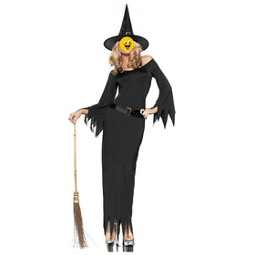 Oparty Halloween Cloak, Golden Pumpkin Witch Cape For Adult