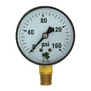 Zenport DPG160 63mm Dry Pressure Gauges, 0 - 160 psi