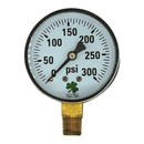 Zenport DPG300 63mm Dry Pressure Gauges, 0 - 300 psi