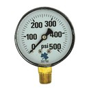 Zenport DPG500 63mm Dry Pressure Gauges, 0 - 500 psi