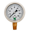 Zenport LPG160 PRESSURE GAUGES - 63mm Glycerin 'Liquid' Filled Pressure Gauges, 0 - 160 psi