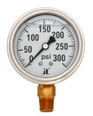 Zenport LPG300 PRESSURE GAUGES - 63mm Glycerin 'Liquid' Filled Pressure Gauges, 0 - 300 psi