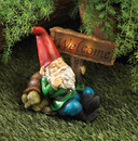 Zingz & Thingz 57071177 Light-Up Welcome Garden Gnome