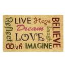 Zingz & Thingz 57072832 Live Love Laugh Door Mat