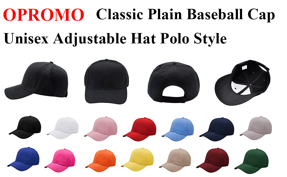 dc20e52a SIMPLE & TIMELESS STYLE: Our baseball cap sport a unique, timeless and  classic style without being verbose or flamboyant. If you need quality that  keeps ...