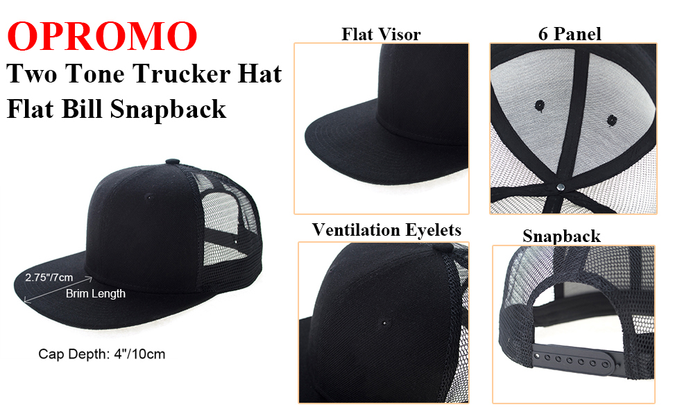 2b147afbfc0db Breathable   Comfortable  Premium snapback mesh cap is made of thick