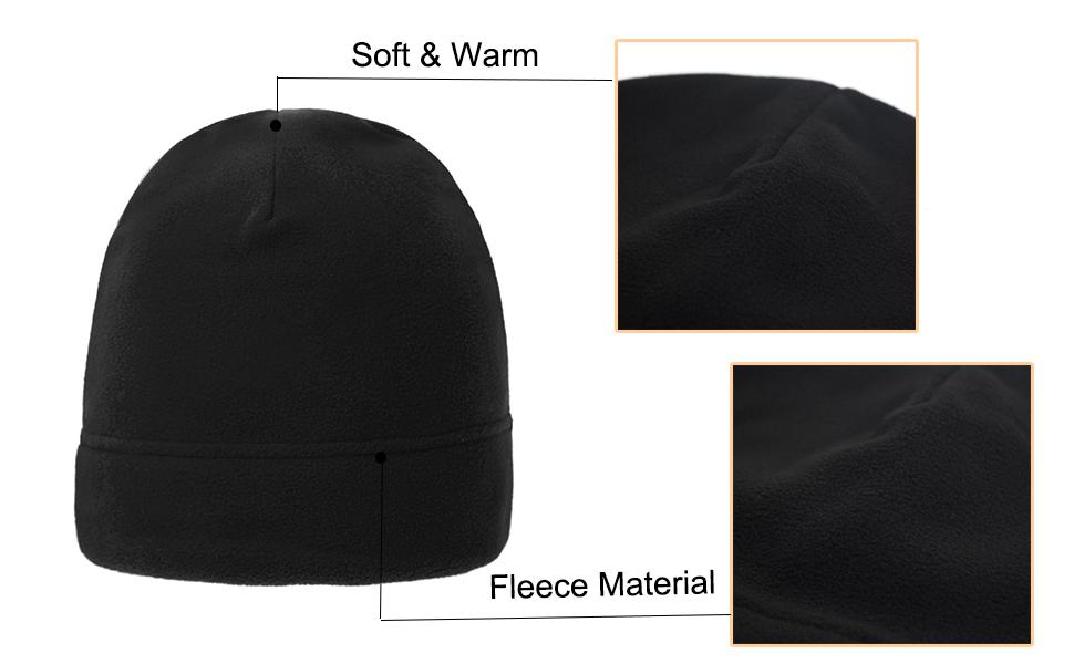 Winter beanie fleece Hat