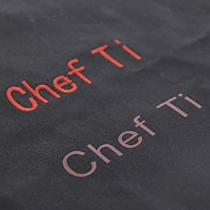 Customize Chef Coats Detail