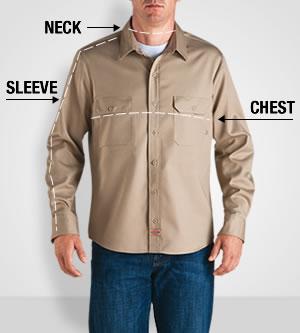 Measuring for Men's Shirts
