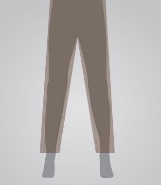 Straight Leg Pant Opening for Men