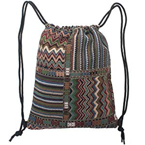 93a5e9ad715 Bohemian Tribal style, this Athletic Sack Bag is a convenient choice for  your every day activities. Ideal storage accessories for camping, hiking,  climbing, ...