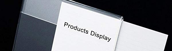 Acrylic label holder, Name Card