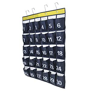 Numbered Pocket Chart