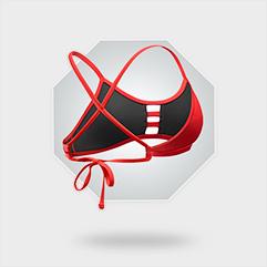 Pacific Tieback Bikini Top