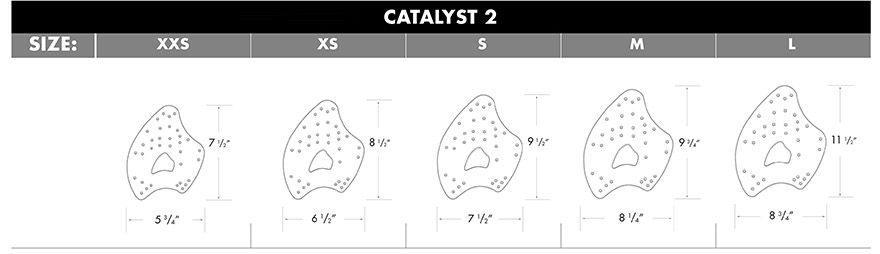 TYR Catalyst Training Paddles