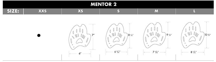 TYR Mentor® 2 Training Paddles