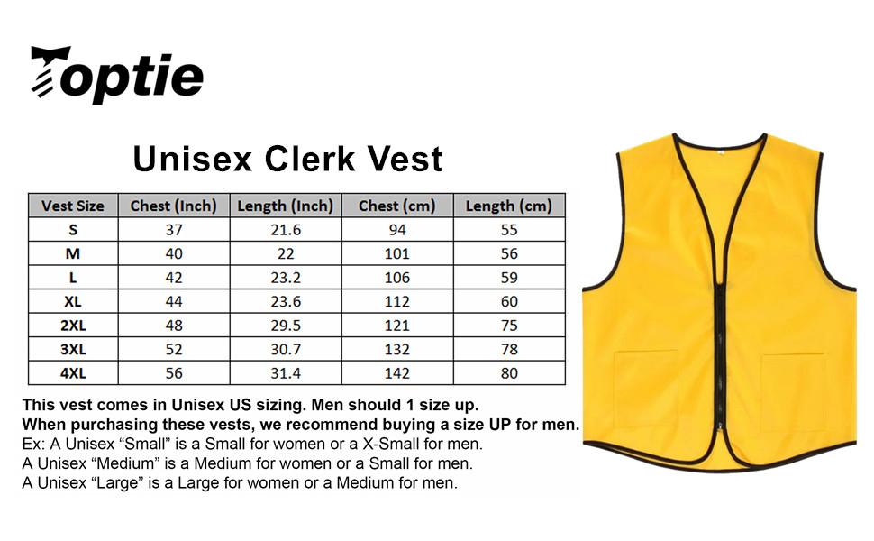 employee vest