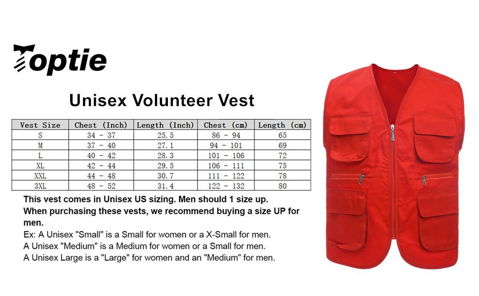 volunteer vest