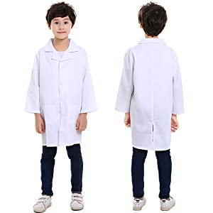 kids White Lab Coats