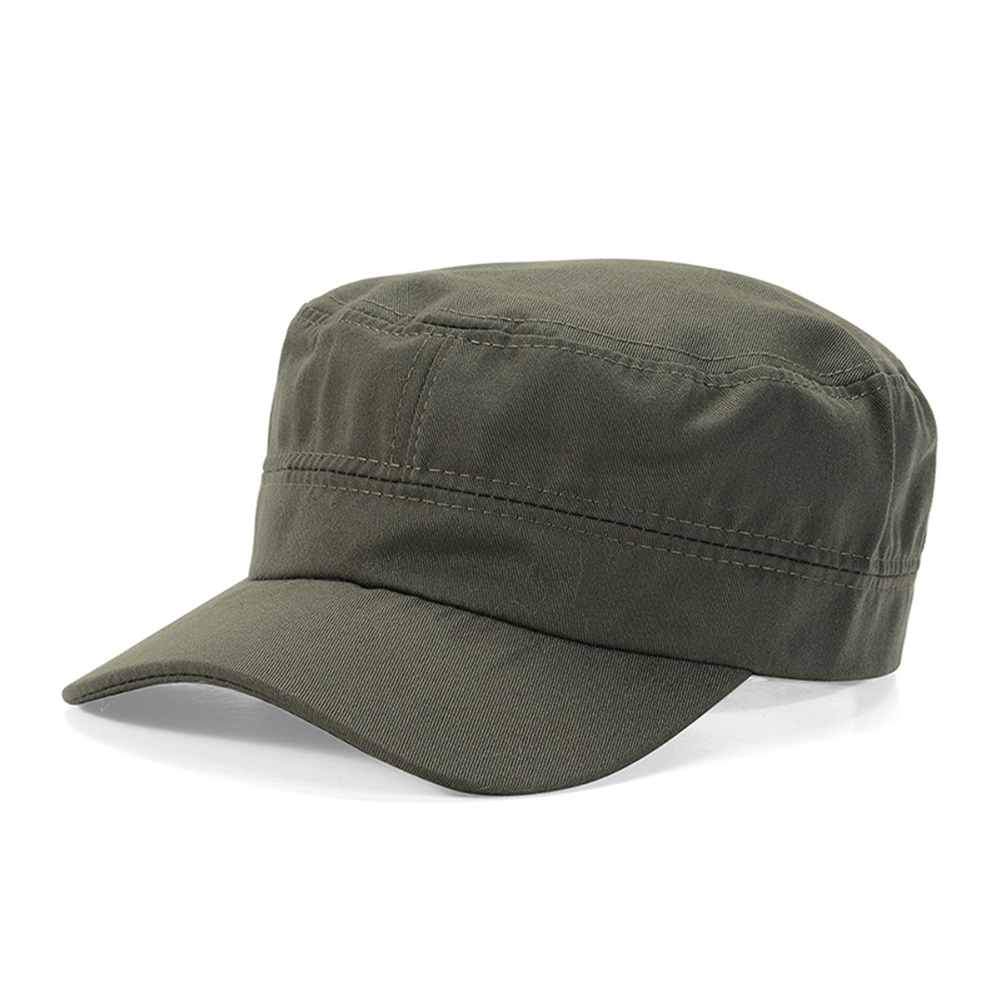 Opentip.com  Opromo Cotton Twill Corps Hat Adjustable Army Cadet Cap  Military Hat 2436eda9ce67
