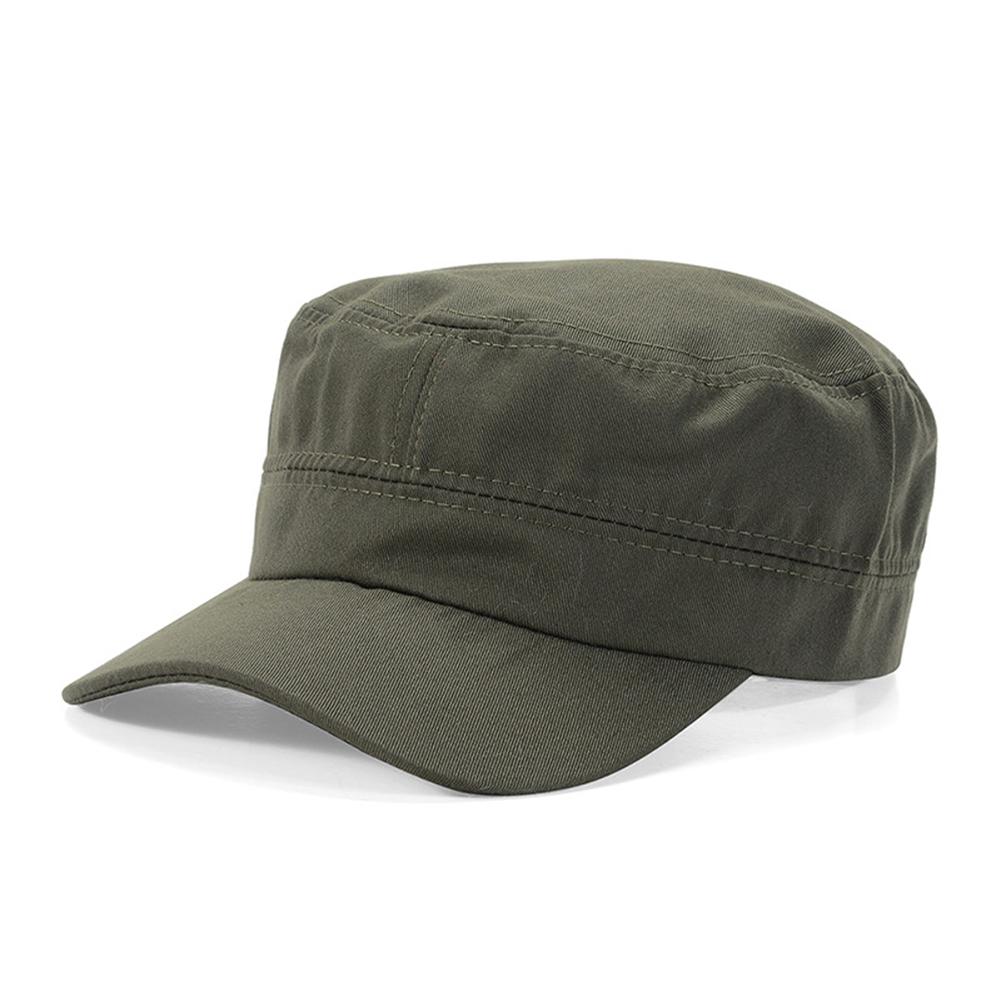 Opentip.com  Opromo Cotton Twill Corps Hat Adjustable Army Cadet Cap  Military Hat 8c72abd397da