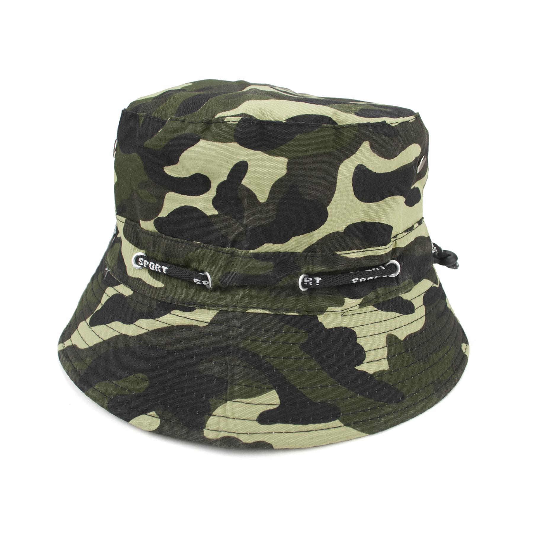 1df5a5f47e2 Opentip.com  Opromo Adjustable Cotton Twill Bucket Hat Summer ...