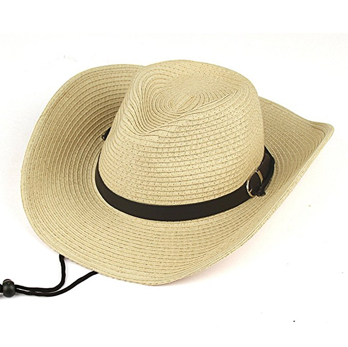 How to stiffen a straw cowboy hat