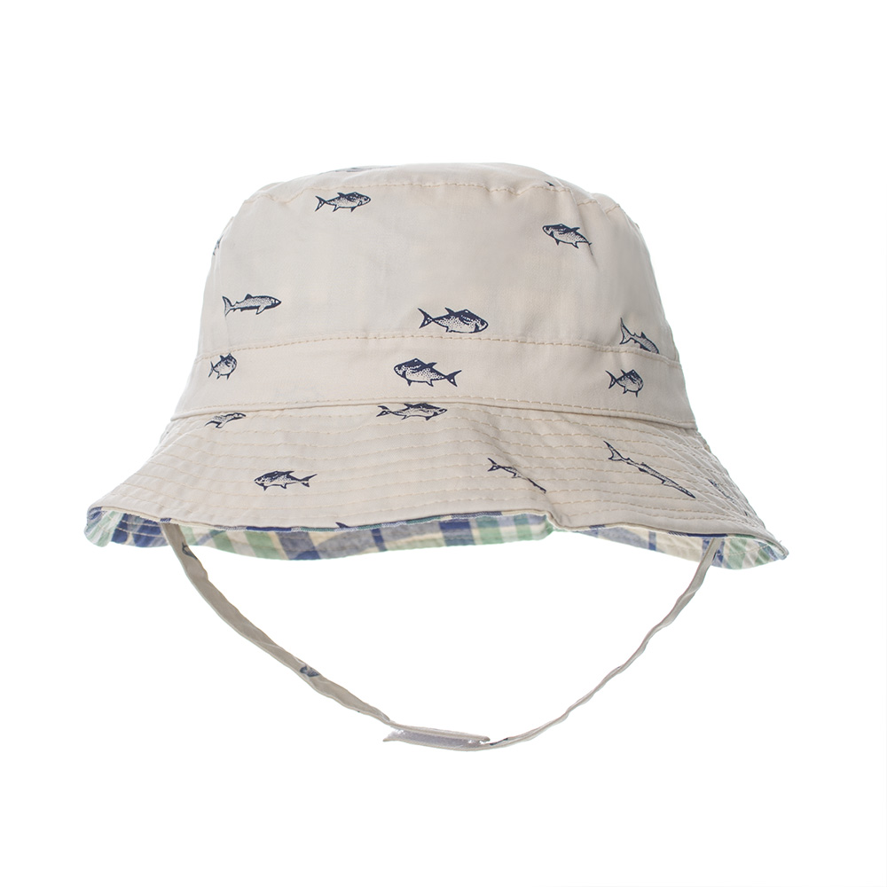 b9a42870 Opentip.com: Opromo Toddler Kids Sun Hat Summer Reversible Cotton ...