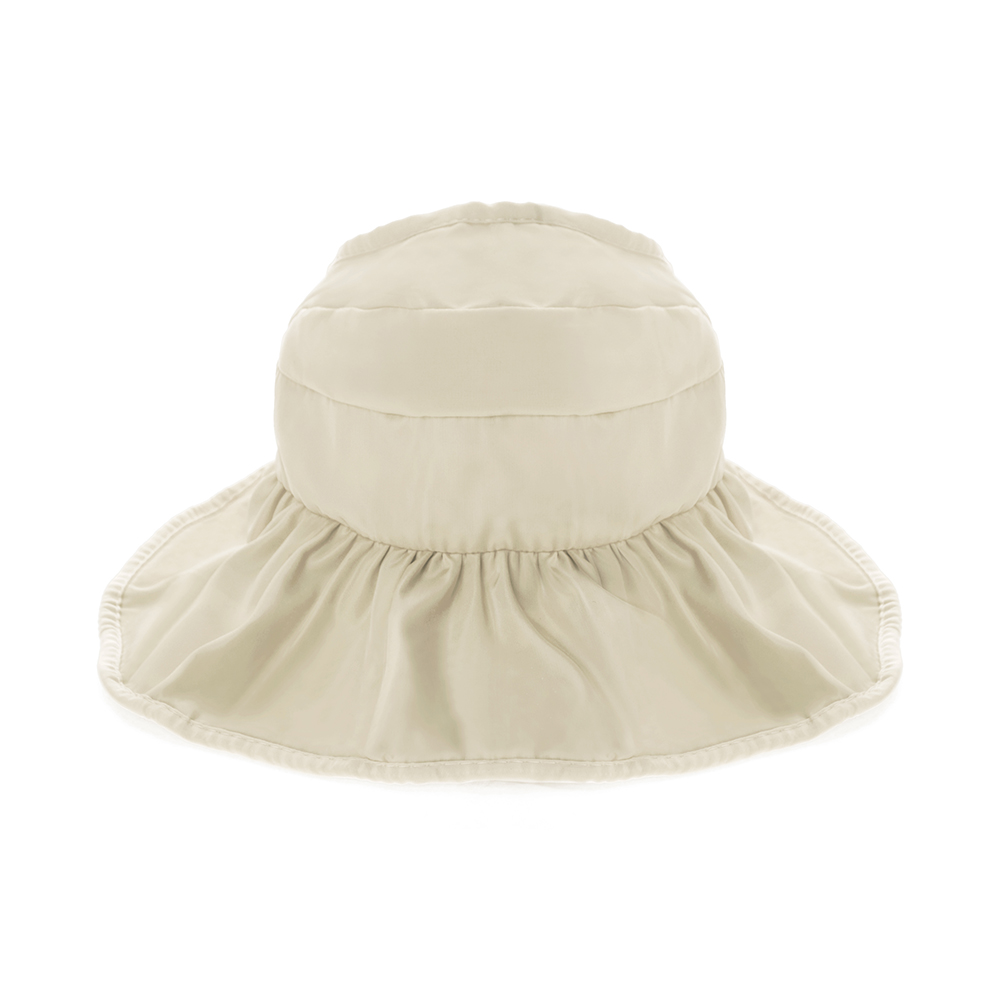 Opentip.com  Opromo Children Waterproof Sunscreen Sun Hat Kids Beach  Foldable Anti-UV Visor Cap d3d37cf8dce