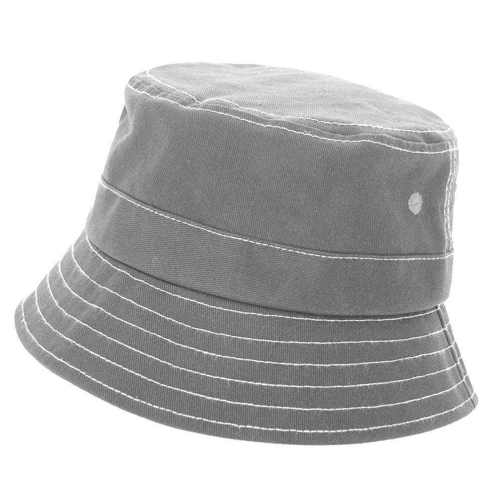 482581e27 Opentip.com  Opromo 100% Cotton Soft Lightweight Bucket Hat for Boys    Girls Kids Sun Protection Sun Hat