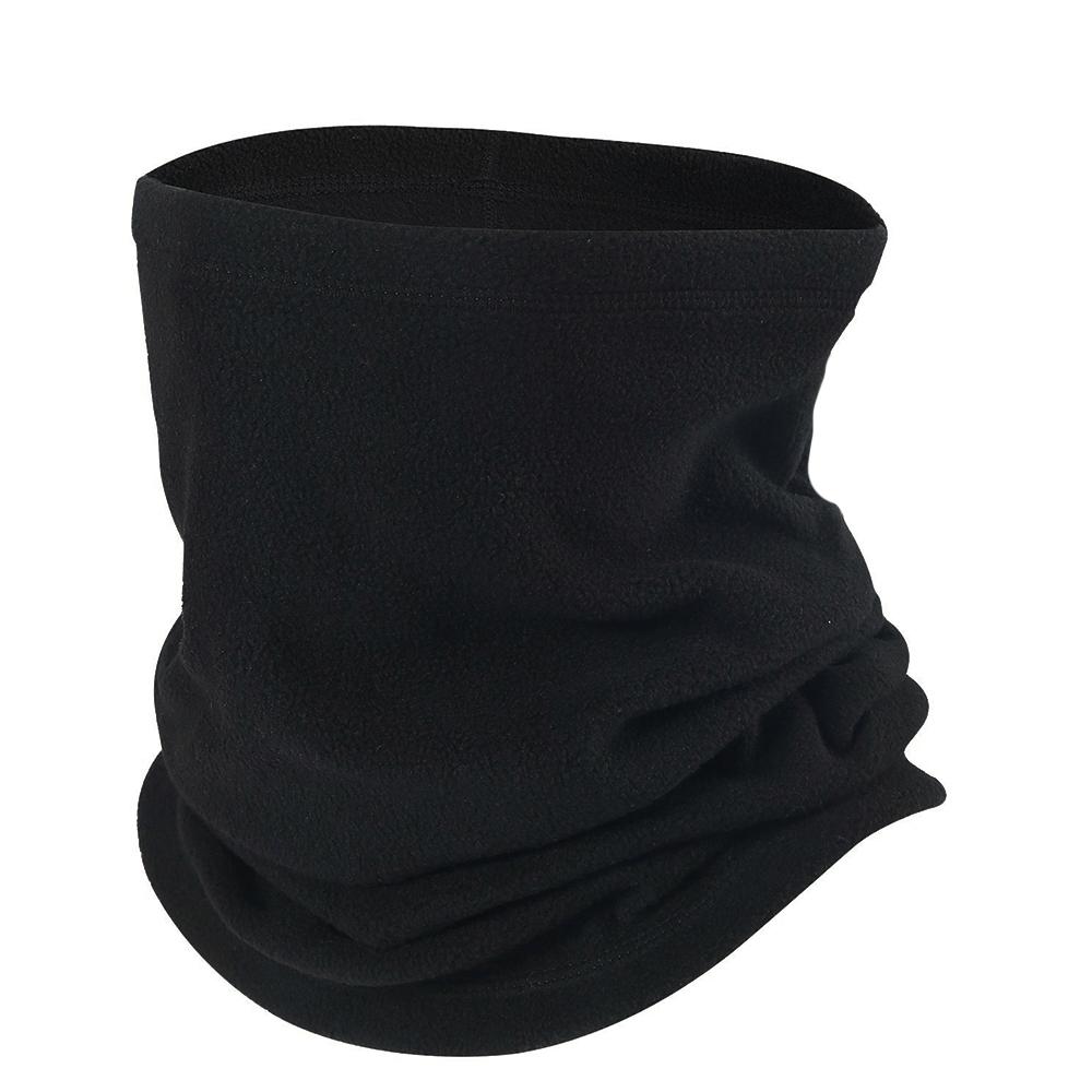 ea1b04551 Opromo Outdoor Fleece Neck Warmer Scarf Hat multifunctional headgear warm  mask hat