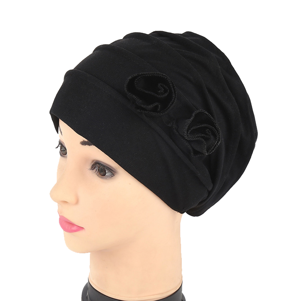 fa24c9d6794 Opentip.com  Opromo Head Scarf Chemo Hat Cap Turban Headwear Women s Flower  Muslim headscarf