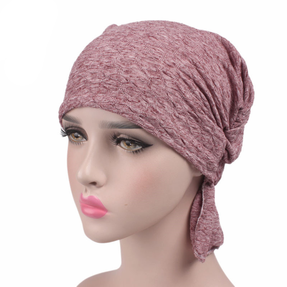 a81d17cd5ef Opentip.com  Opromo Women s Chemo Hat Head Beanie Scarf Hat Turban Headwear  Bandana for Cancer