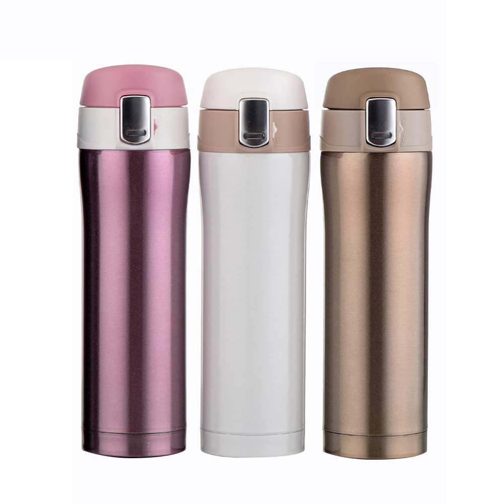 Blank Stainless Steel Double Wall Vacuum Insulated Travel Coffee Mug 17 oz  9 1/5
