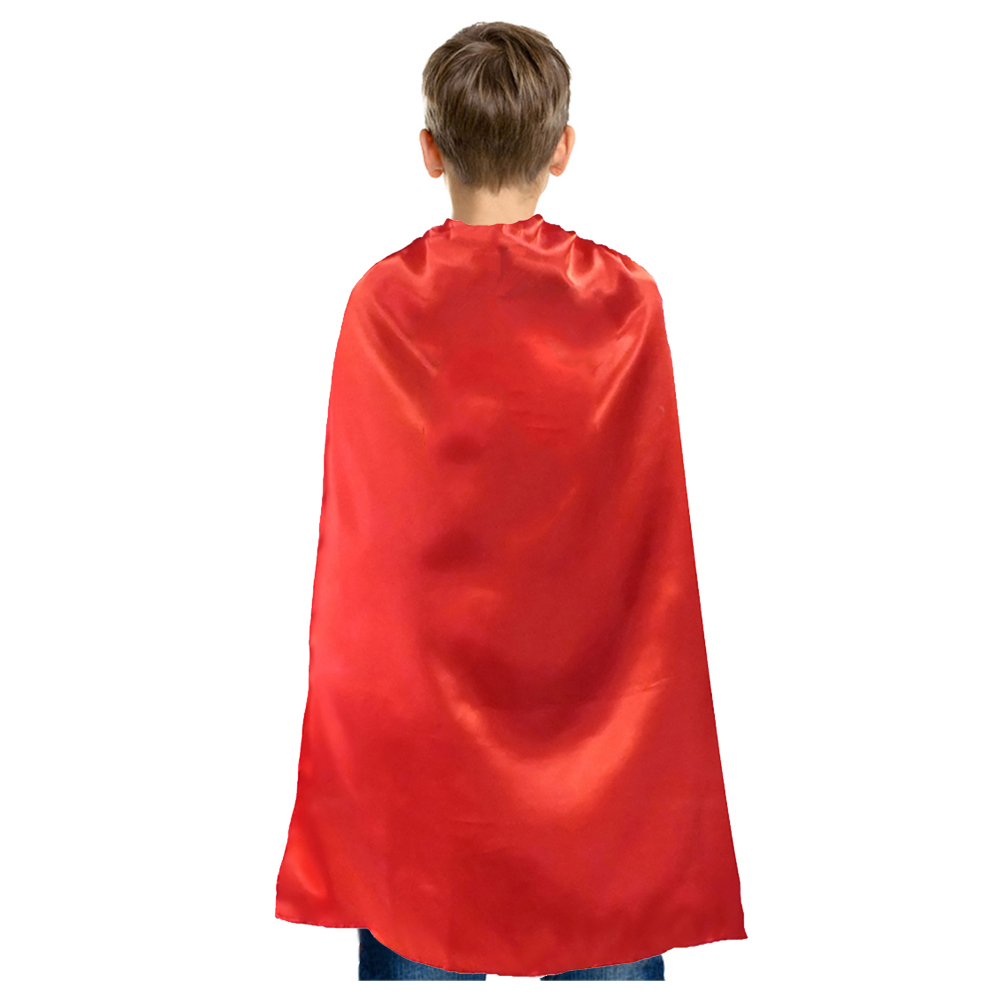 "20/"" Child White Superhero Cape /& Mask Costume Set ~ HALLOWEEN COSTUME PARTY"