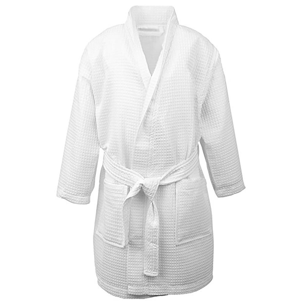 114b4bb3da Opentip.com  Opromo Kids Waffle Kimono Spa Party Robe Hotel Cotton ...