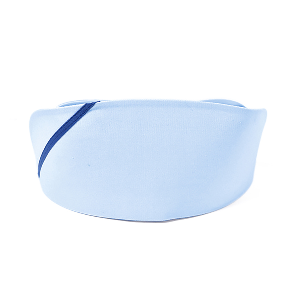 Nurse Cap Hat White Polyester Breathable Sweat Absorbent comfortable Fits teens