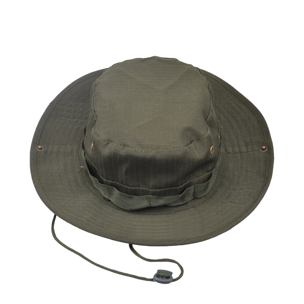 8ca4c4e2b Opromo Fishing Bucket Boonie Hat Summer Sun Cap Outdoor Hat with Side Chin  Cord