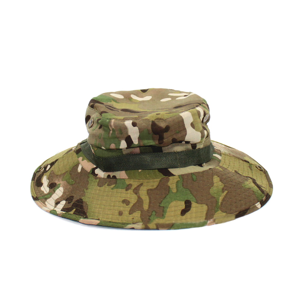 1ec2610e Opentip.com: Opromo Kids Beach Camouflage Bucket Hat With Chin Straps Child  Summer Beanie Cap
