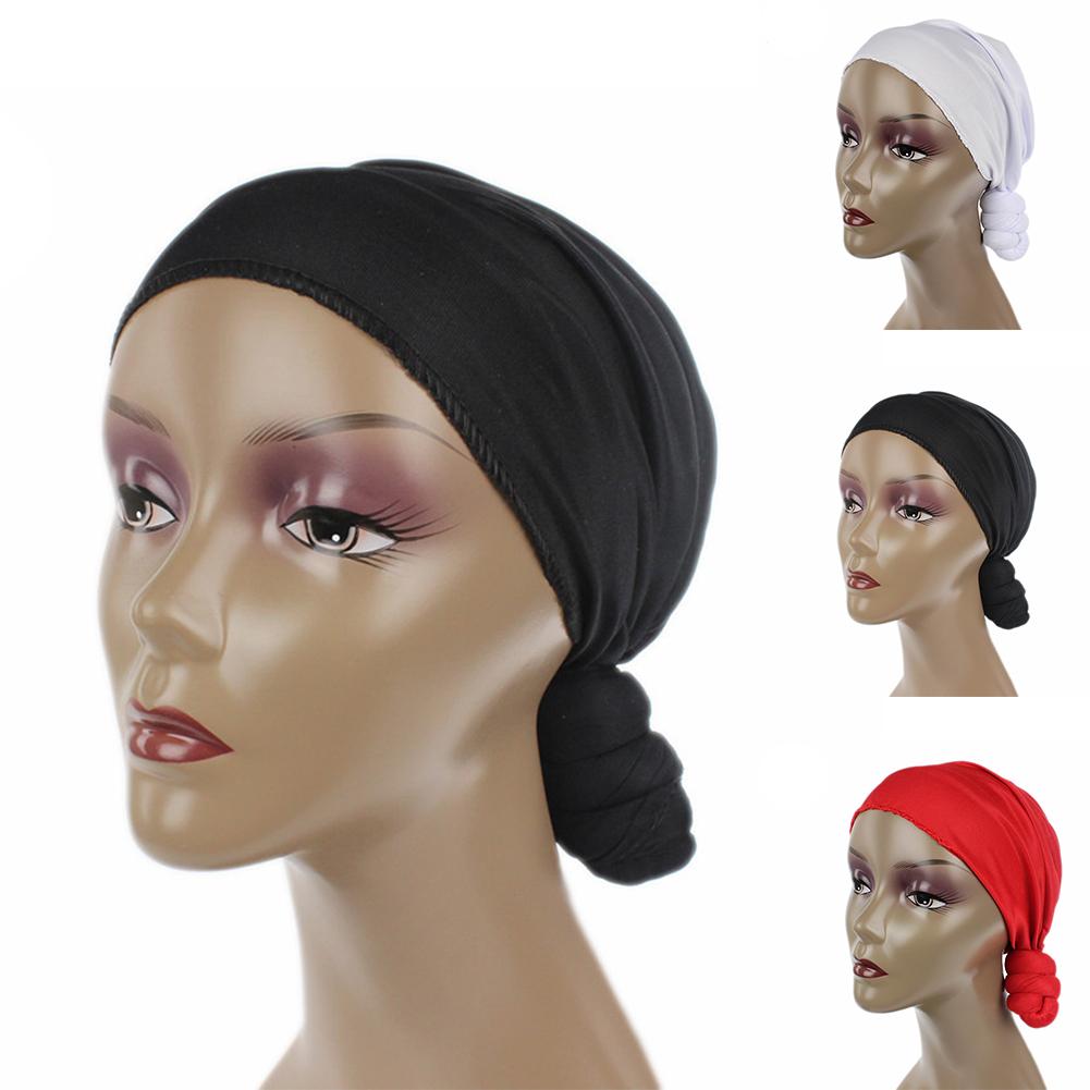 278e0d77764 Opentip.com  Opromo Women Pre-Tied Knotted Head Wrap Scarf Turban Hat  Bandana Tichel Headwear